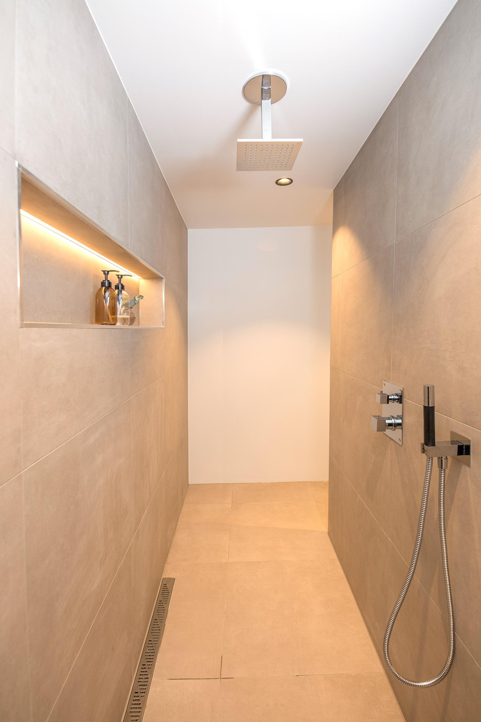 Ny og moderne privat dusj